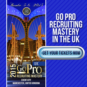 Go Pro Recruiting Mastery - UK