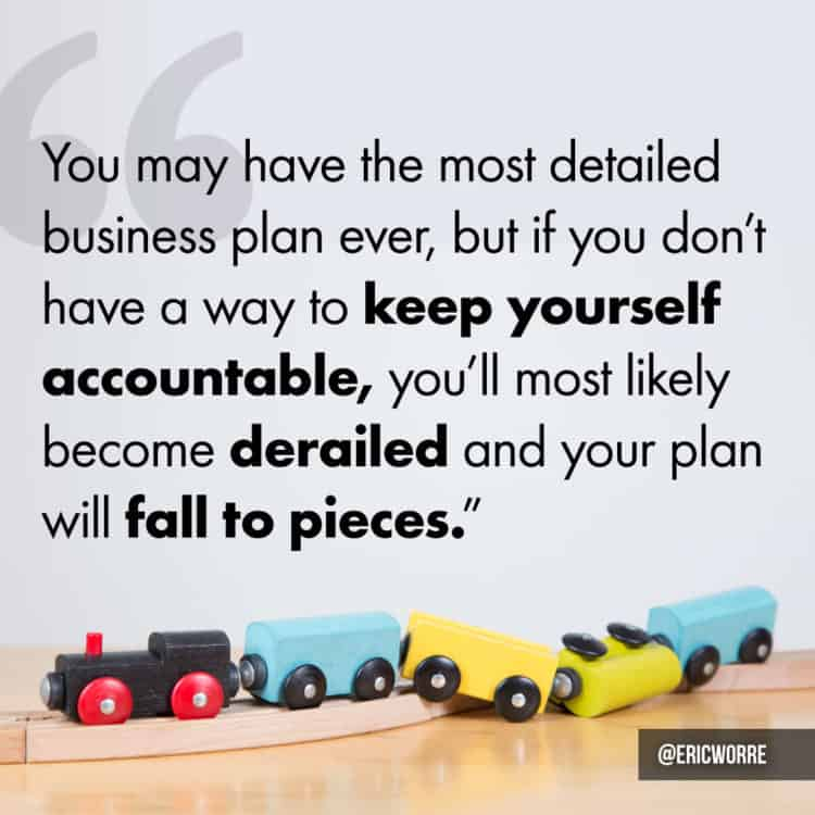 Keep Yourself Accountable