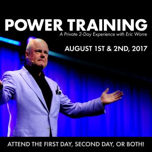 Power Training: A Private 2-Day Experience with Eric Worre