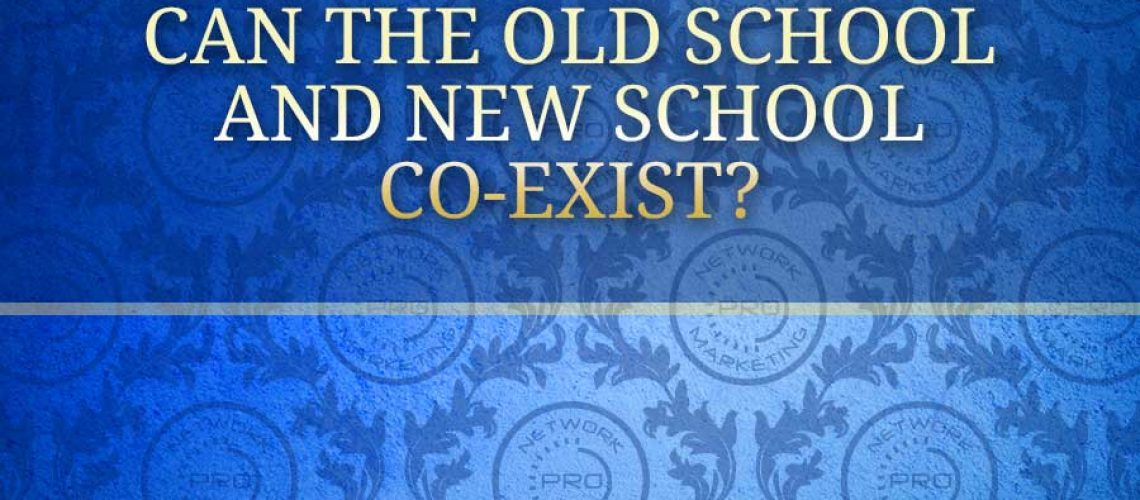 Can the Old School and New School Co-exist?