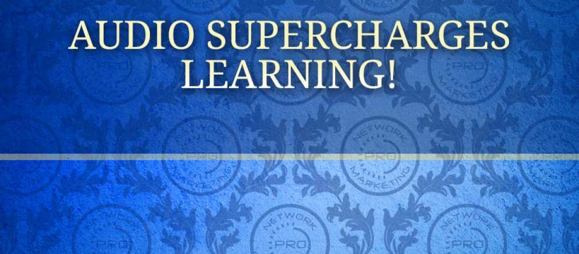 Audio Supercharges Learning!