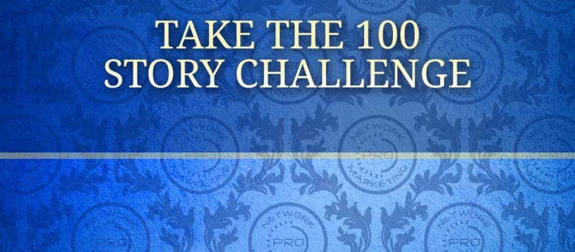 Take the 100 Story Challenge