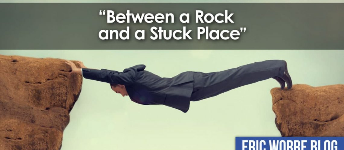 Between a Rock and a Stuck Place in Network Marketing