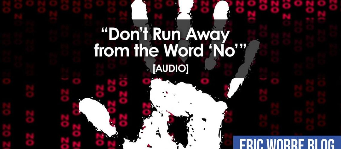 Don't Run Away from the Word No_Audio