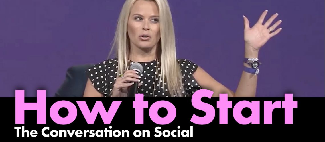 Episode-How to Start the Conversation on Social