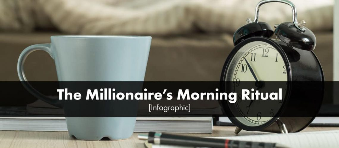 The Millionaire's Morning Ritual