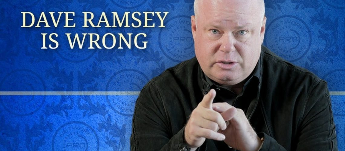 Dave Ramsey Is Wrong