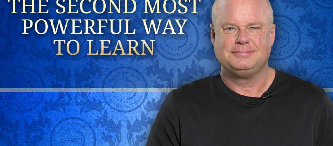 The Second Most Powerful Way to Learn