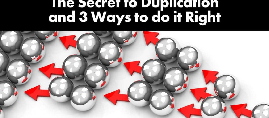 secret-to-duplication